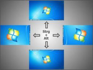 Tastenkombination Zum Bildschirm Drehen